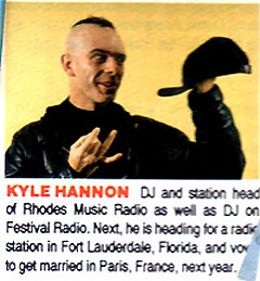 "CLIP FROM ""STYLE MAGAZINE' 1991"