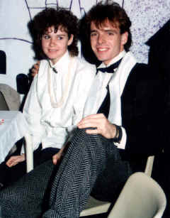 FIRST TIMERS AT THE JAMESON HOUSE HALL BALL 1986