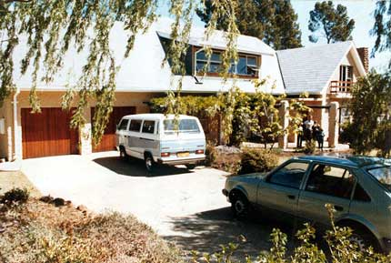 OUR HOUSE IN BLUE RISE, FEATURING THE LEARNERS' CARS