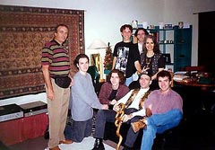 WITH MY FAMILY IN OUR BEACH ROAD TOWNHOUSE, E.L. 1995
