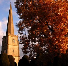 PAINSWICK CHURCH AT 'THAT' TIME OF YEAR...